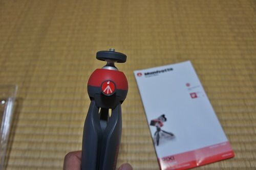 Manfrotto PIXI を開封