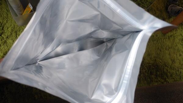 パン冷凍保存袋の中